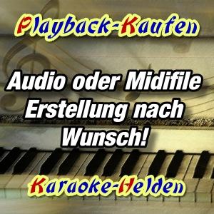 Wunschplayback erstellen - Playback-kaufen-Shop -